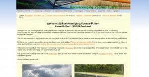 Oude RVVP website
